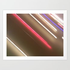 Light Lines. Art Print