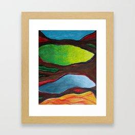 Transection Framed Art Print