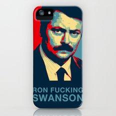 Ron F***ing Swanson iPhone (5, 5s) Slim Case