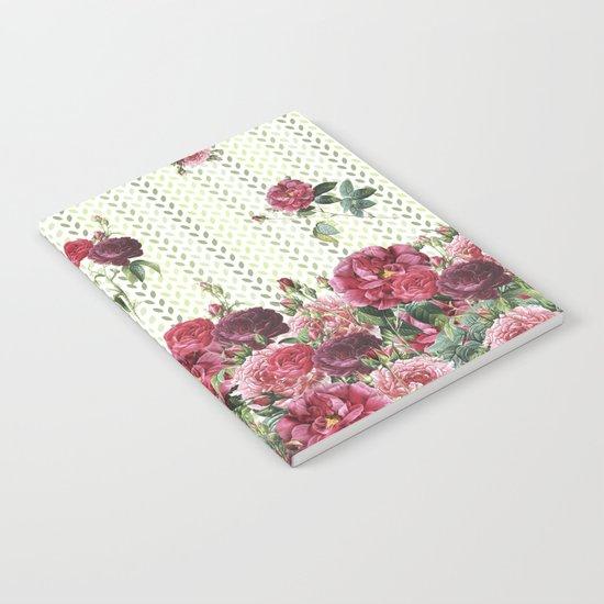 Rose Rain Notebook