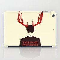 hannibal iPad Cases featuring Hannibal by Pixel Design