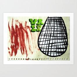 Los Chiles Verdes Art Print