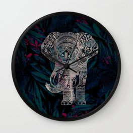 Nightjungle Wall Clock