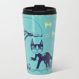 Curiosity Killed the Cat Travel Mug
