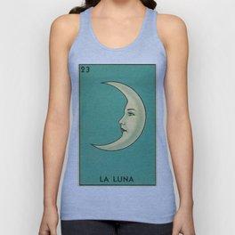 La Luna Card Unisex Tanktop