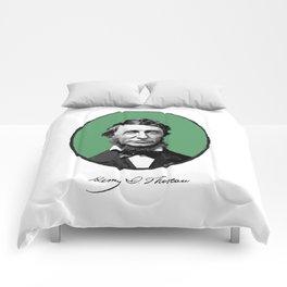 Authors - Henry David Thoreau Comforters