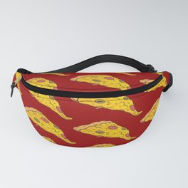 Pizza Pattern Love Pizza Fast Food Fanny Pack