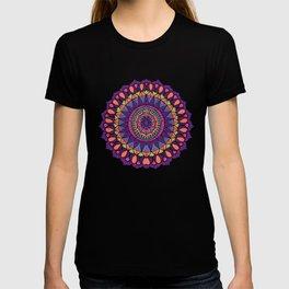 Groovy Dayglo Boho Mandala T-shirt