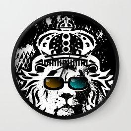 Lion 2 Wall Clock