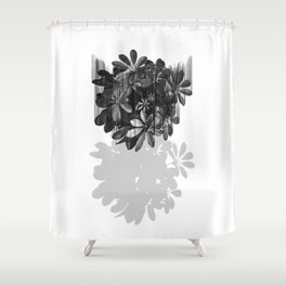 Sadly, there are no parachutes for plants. Shower Curtain
