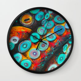Release Me (eye) Wall Clock