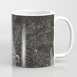 moscow map ink lines Coffee Mug
