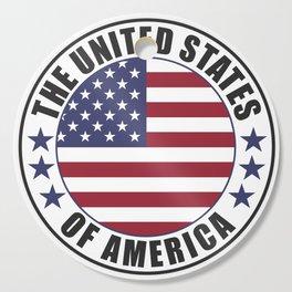 The United States of America - USA Cutting Board