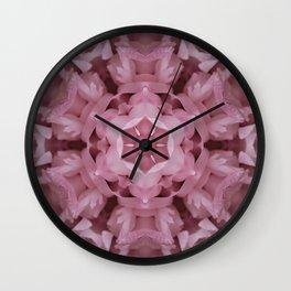 Hint Of Pink Wall Clock