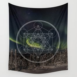 Northern Lights Star Wall Tapestry