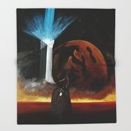 Redemption is Hell Throw Blanket
