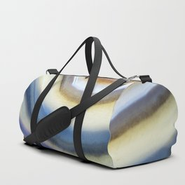 Colorful layered agate 2075 Duffle Bag