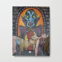 The Dracula Special Metal Print