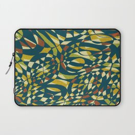 Tropical Color in blue 1950 Laptop Sleeve