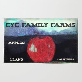 Eye Family Farms Apples Rug