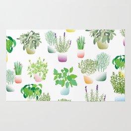 Herb Garden Rug