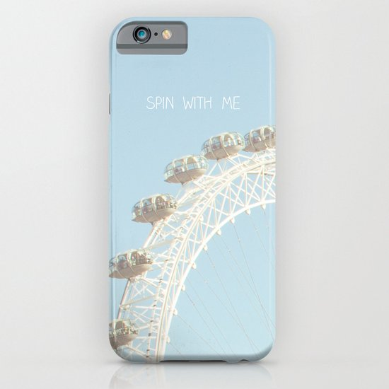 Spin with me iPhone & iPod Case