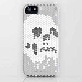 Skull Tile iPhone Case