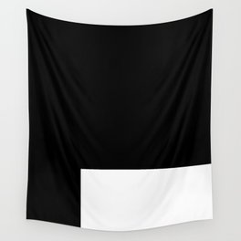 White Rectangle Wall Tapestry