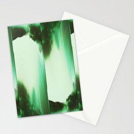 Green, Reversi Stationery Cards