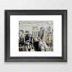 NEW YORK 1 Framed Art Print