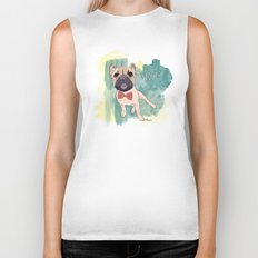 Frenchie Art. Bruno. Biker Tank