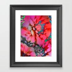 Proud Dahlias 2 Framed Art Print