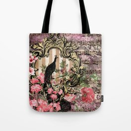 Feather Peacock 21 Tote Bag