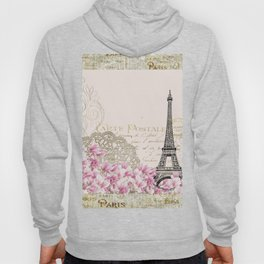 Ooh La La Parisian Eiffel Tower by Saletta Home Decor Hoody