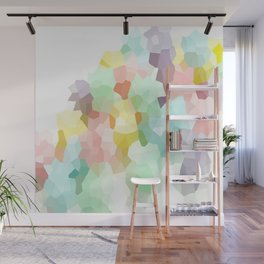 Pastel Abstract Wall Mural