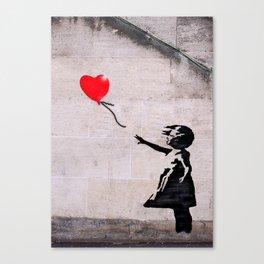 Banksy, Hope Canvas Print