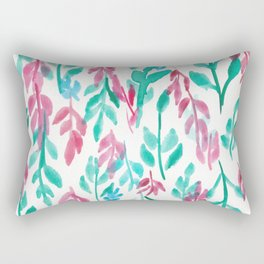 180726 Abstract Leaves Botanical 14|Botanical Illustrations Rectangular Pillow