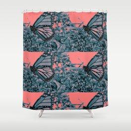Pop Monarch Shower Curtain