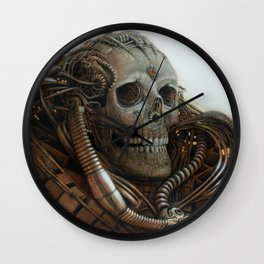 The Timetraveller II Wall Clock