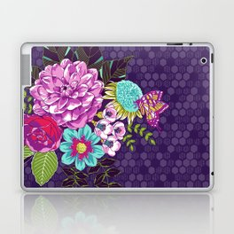 Bloomin' Beauties Violet Laptop & iPad Skin