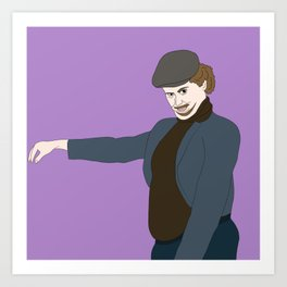 Ethan And His Fupa Art Print