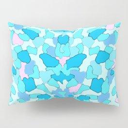 Camo Aqua Pillow Sham