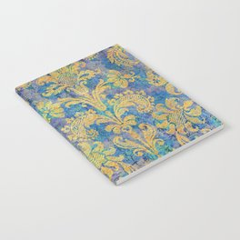 Tapestry in Blue Notebook