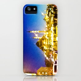 Night city. iPhone Case