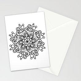 Acuatic Mandala Stationery Cards