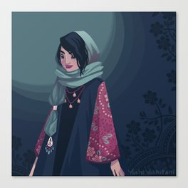 Tehran Fashion II Canvas Print