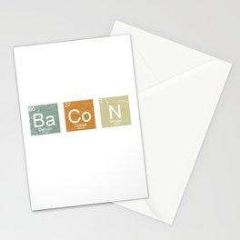 Bacon Periodically Stationery Cards
