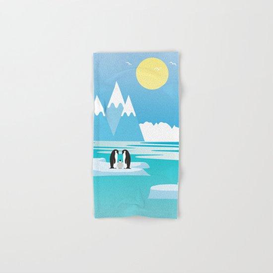 Penguins Hand & Bath Towel