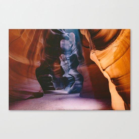 Slot Canyon Canvas Print