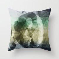 interstellar Throw Pillows featuring Interstellar by Nirvana.K